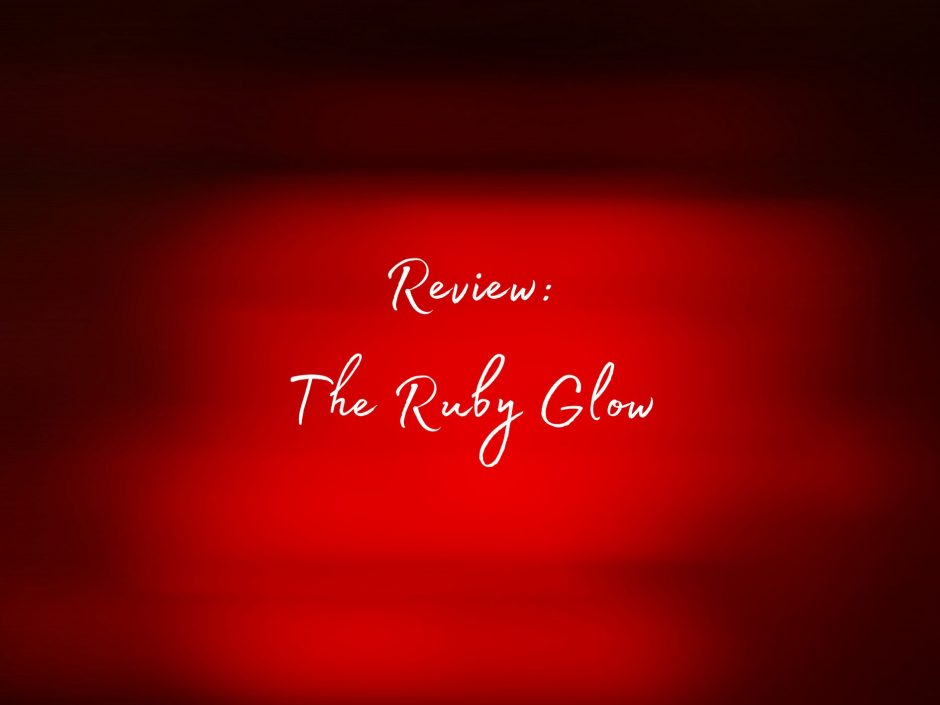 Header image for a review of the Ruby Glow saddle vibrator
