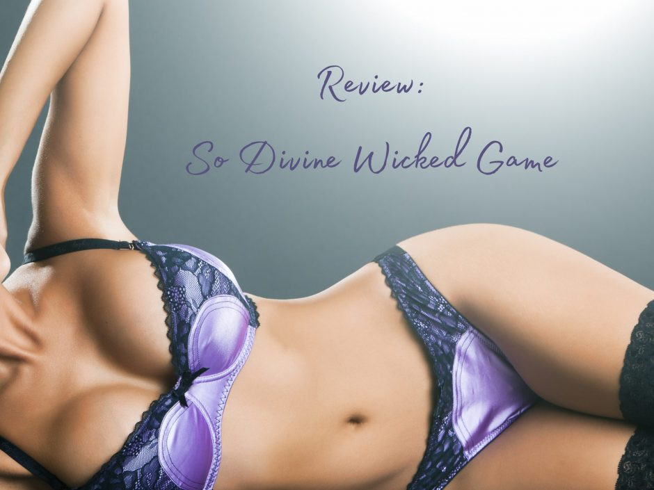 Header for a review of the So Divine Wicked Game wand vibrator