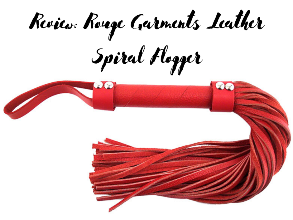 Header image for a review of the Rouge Garments leather flogger