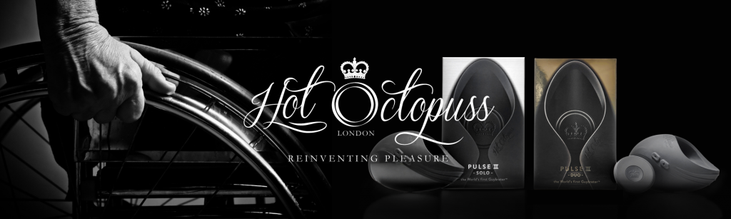A banner ad for sex toy company Hot Octopuss, who sponsored a post on sex and mental health