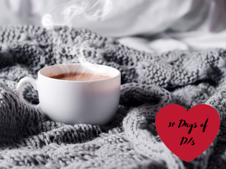 A blanket and hot drink. For a post about subdrop