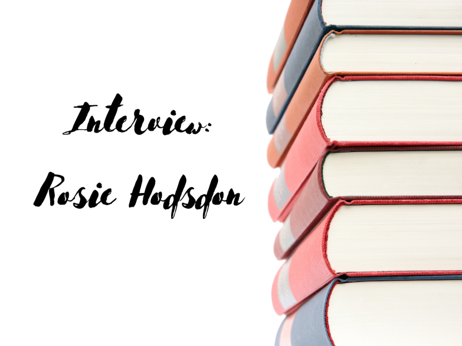 Header image for an interview with Rosie Hodsdon