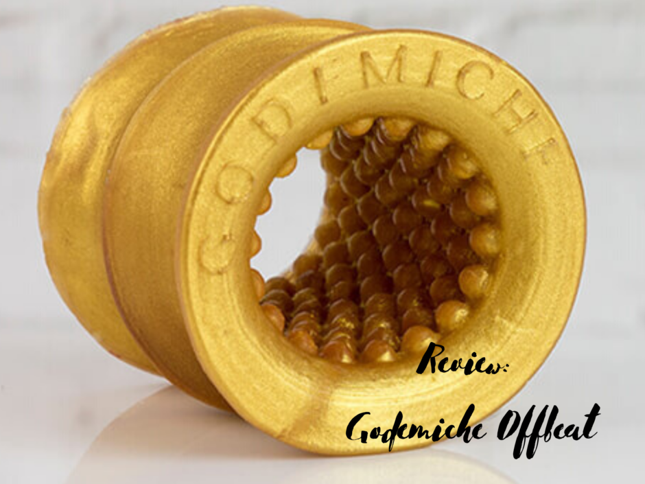 Header image for a review of the Godemiche Offbeat
