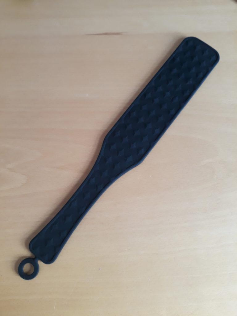 BLack silicone paddle