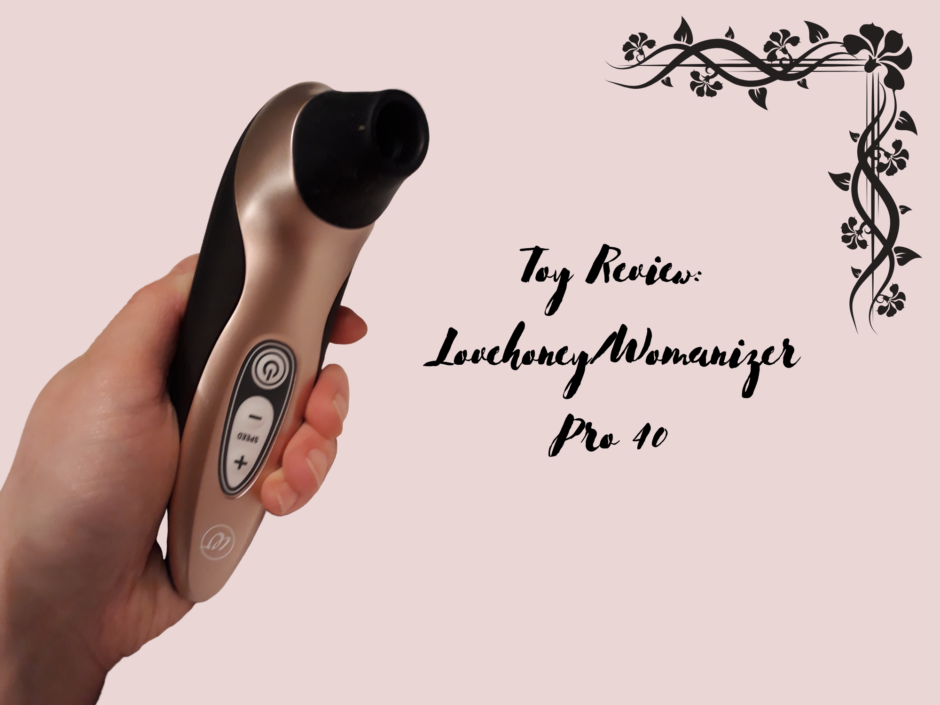 Header image for a review of the Womanizer/Lovehoney Pro40
