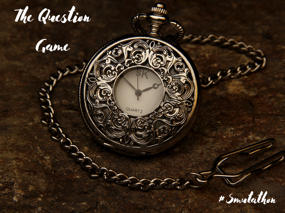 A pocket watch. For a fictional story called The Question Game