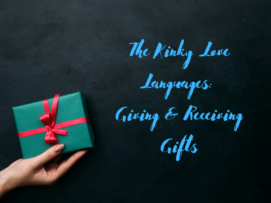 A wrapped present. For a post on the love language of giving and receiving gifts