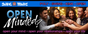Swingtowns banner ad, for a sponsored post on swinger dating profiles