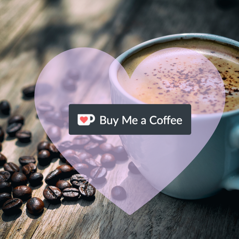 Buy Me a Coffee button.
