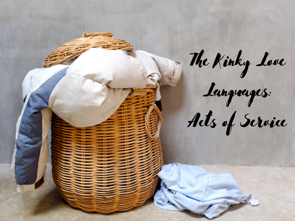 Header image for a post about acts of service as a love language in kink
