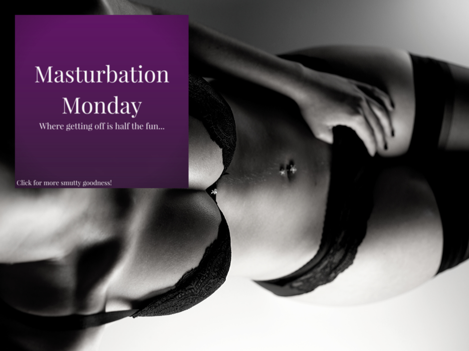Header image for a post about sexual fantasies for Masturbation Monday