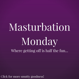 The Masturbation Monday logo. For a post about places I've masturbated