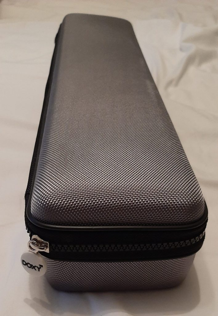 The grey zip up Doxy Die Cast storage case