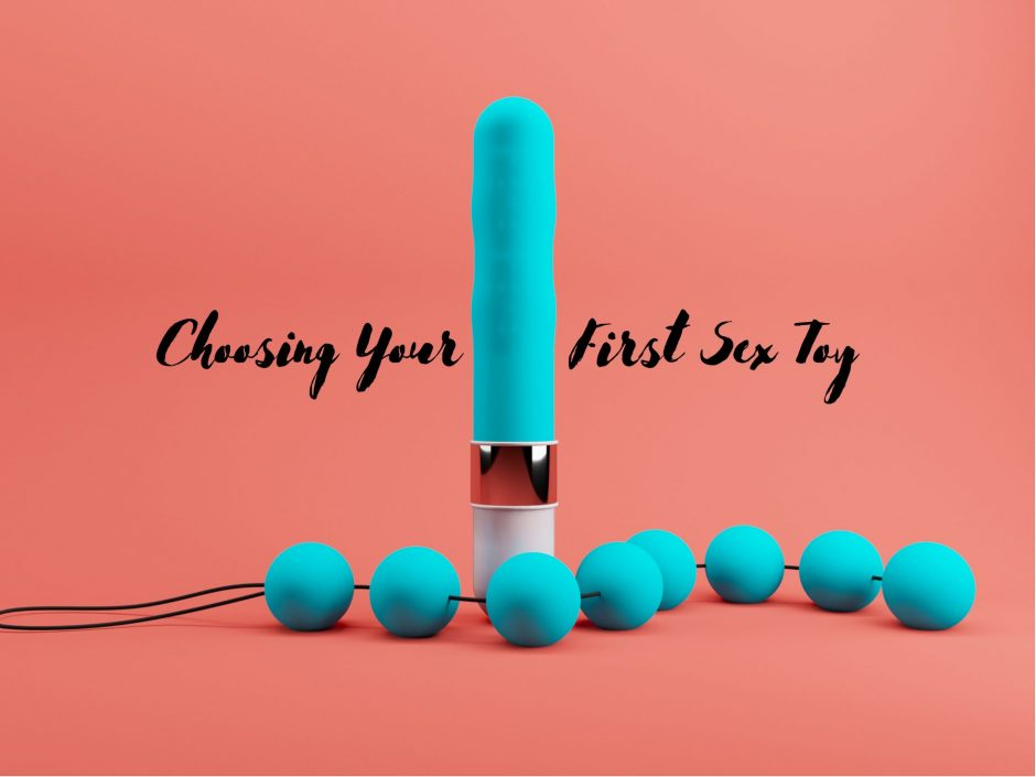 Header image for a post on choosing a first sex toy