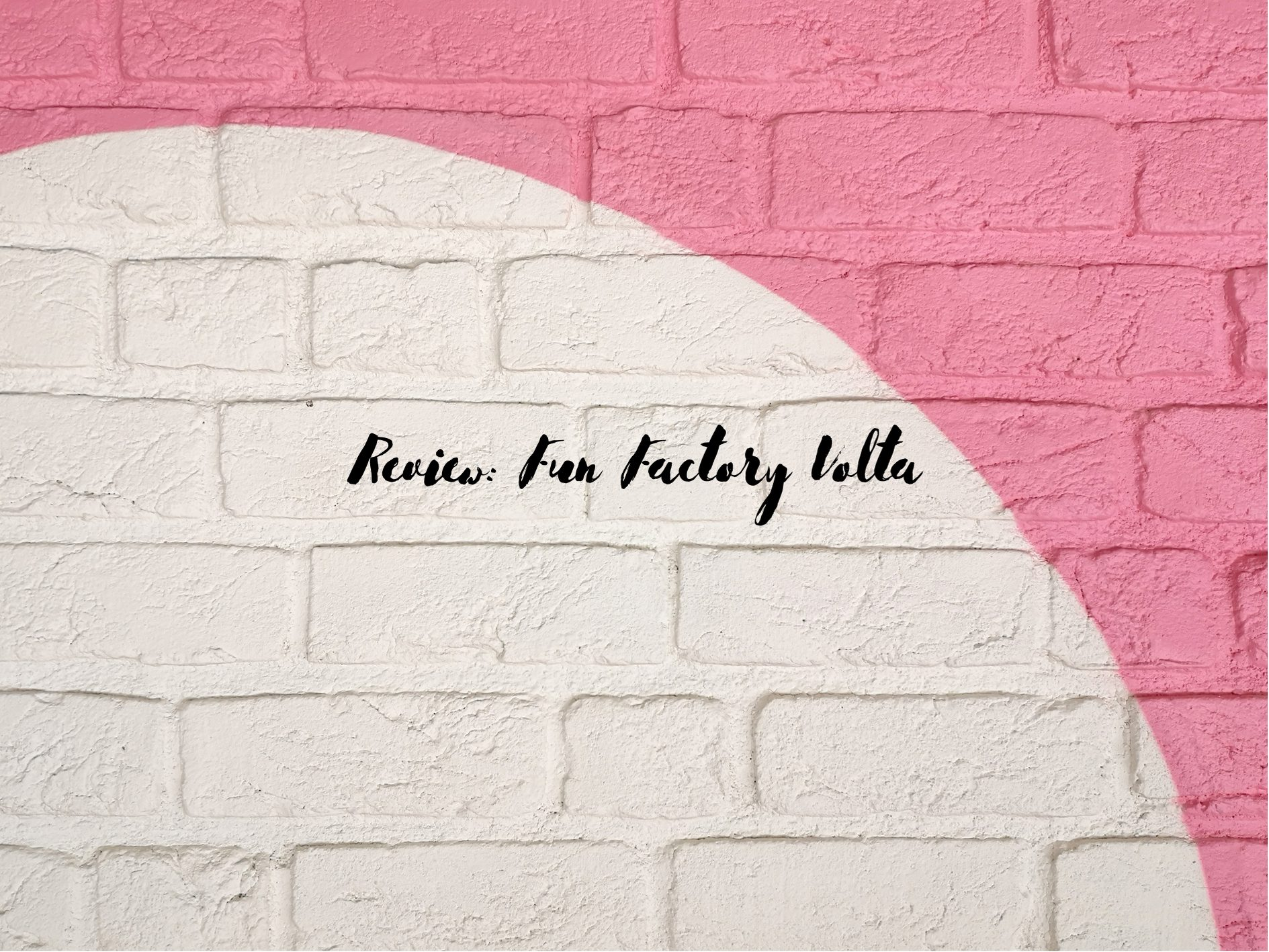 [Toy Review] Fun Factory Volta