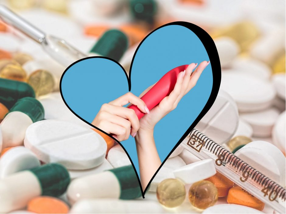 Header image for a post on medication and sexual function
