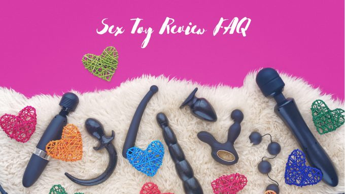 Header image for a sex toy review FAQ