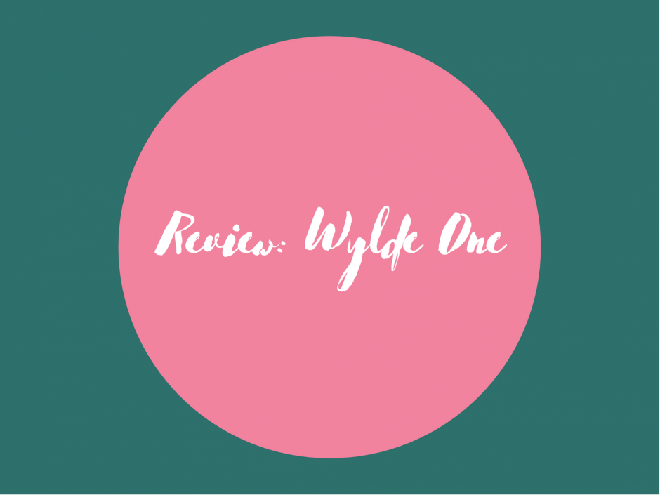Header for a review of Wylde One lube