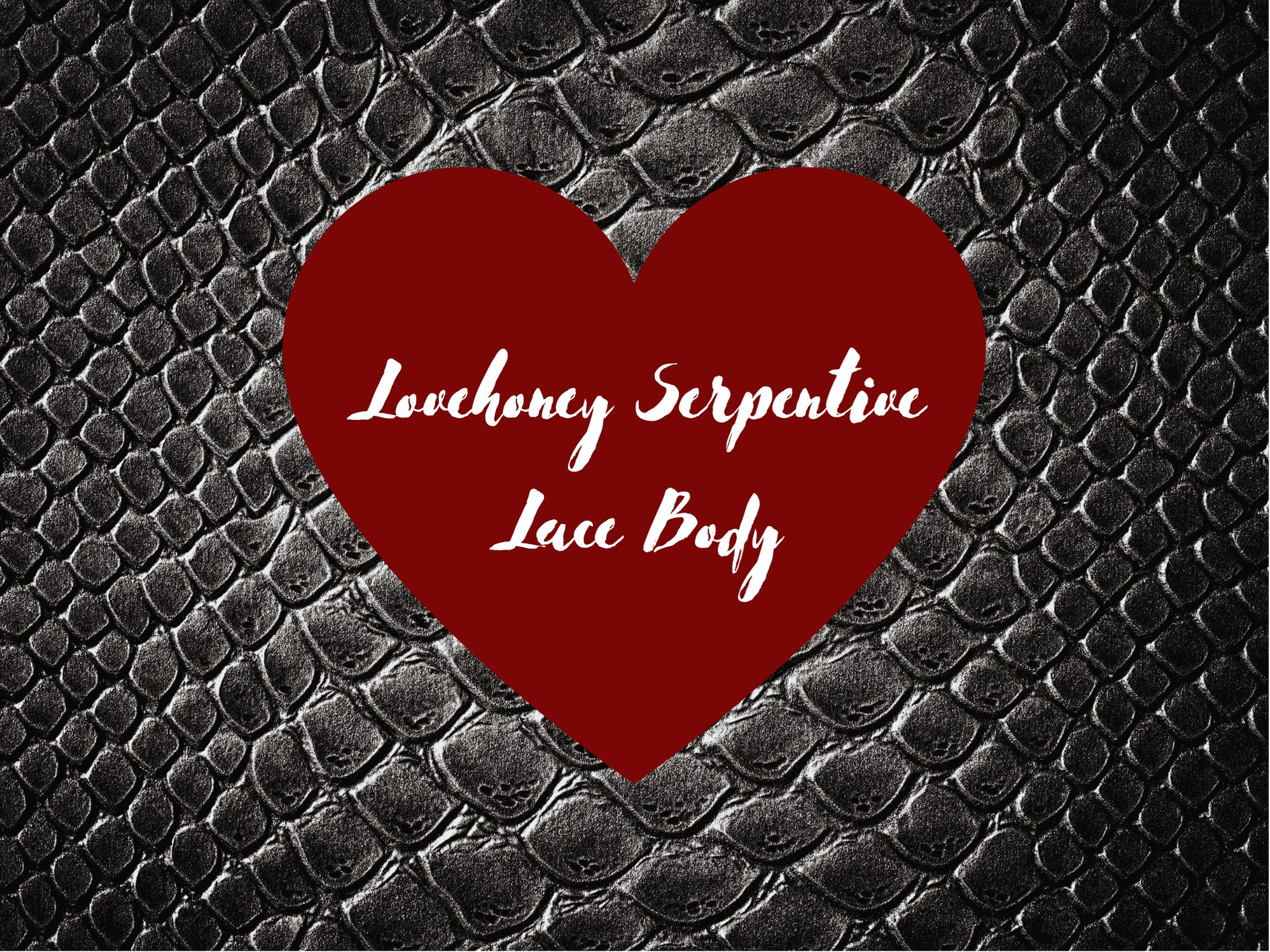 [Lingerie Review] Lovehoney Fierce Serpentine Lace Body