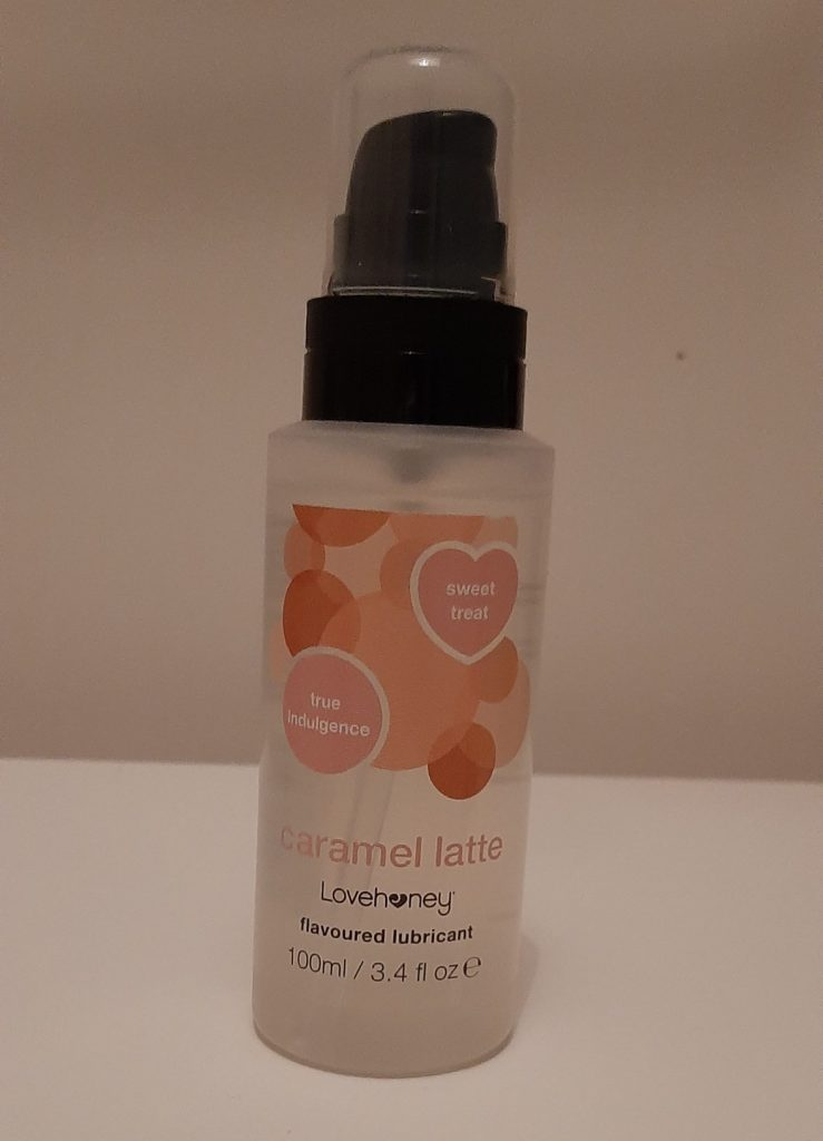 Lovehoney caramel latte flavoured lube
