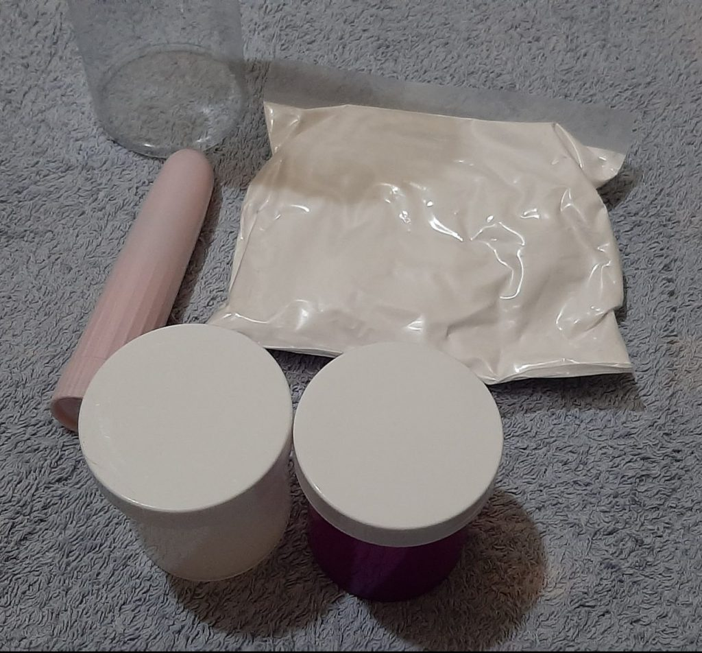 Some of the contents of the Clone a Willy Kit