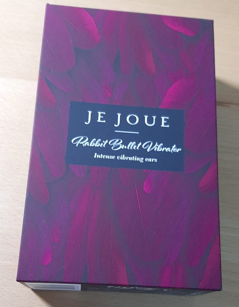 Packaging for the Je Joue Rabbit Bullet clitoral vibrator