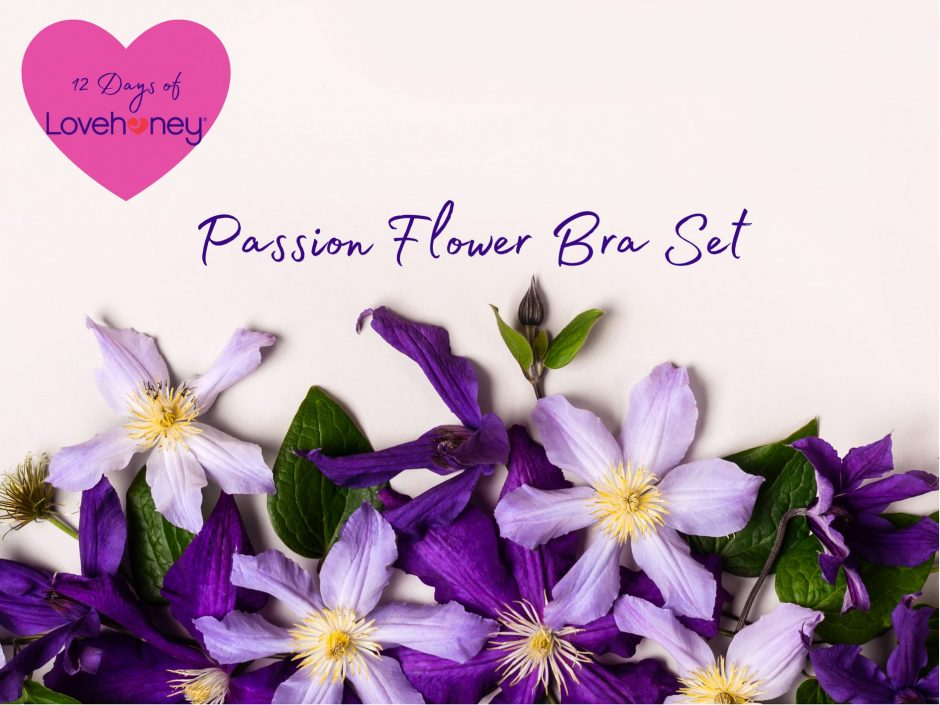 Header image for a review of the Passion Flower Bra Set from Lovehoney lingerie