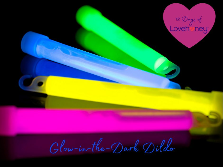 Header for a review of the Lovehoney glow-in-the-dark dildo