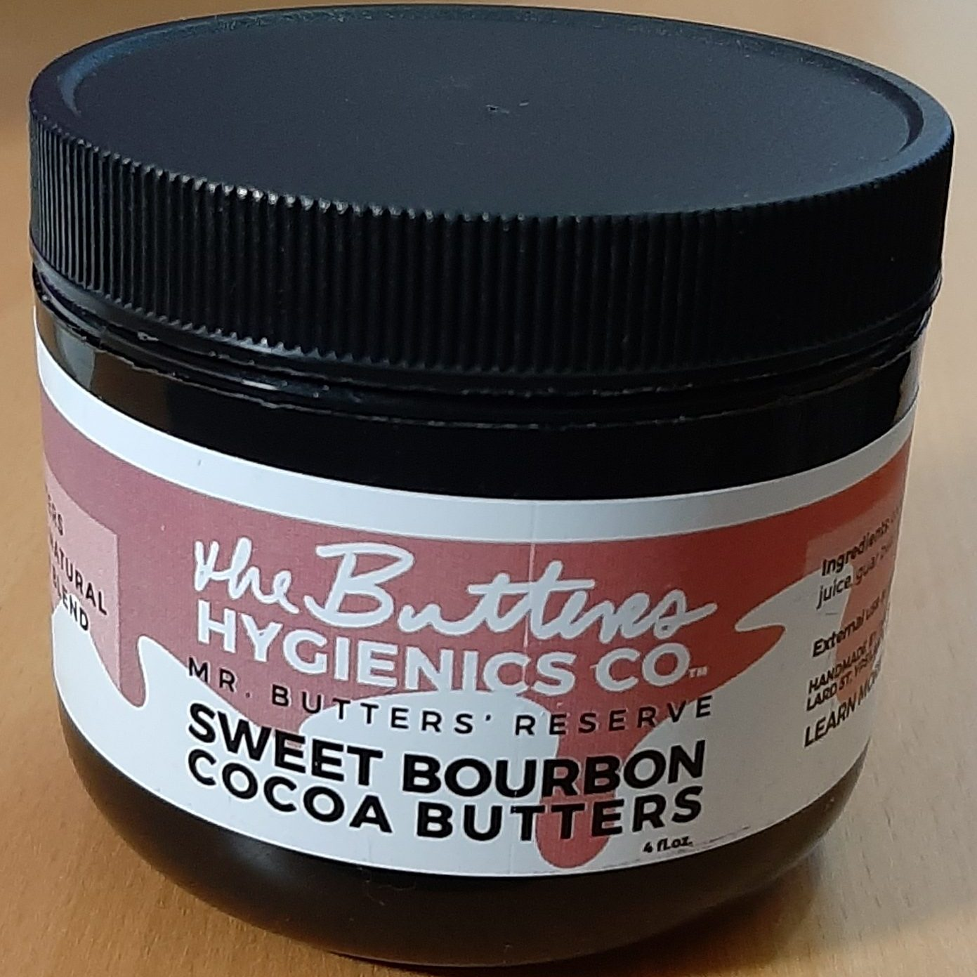 The Butters Hygienics Co Sweet Bourbon Cocoa Butters moisturiser