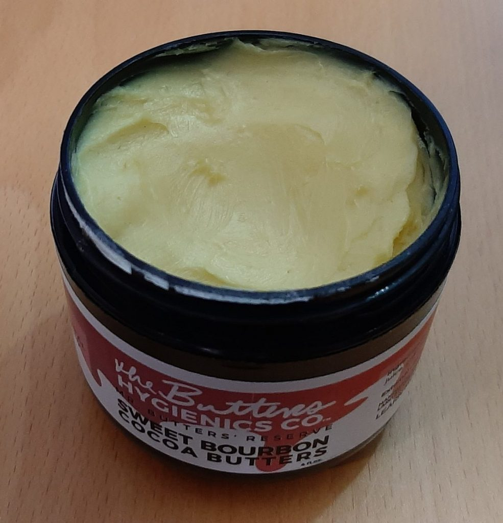 The Butters Hygienics Co Sweet Bourbon Cocoa Butters shea butter moisturiser