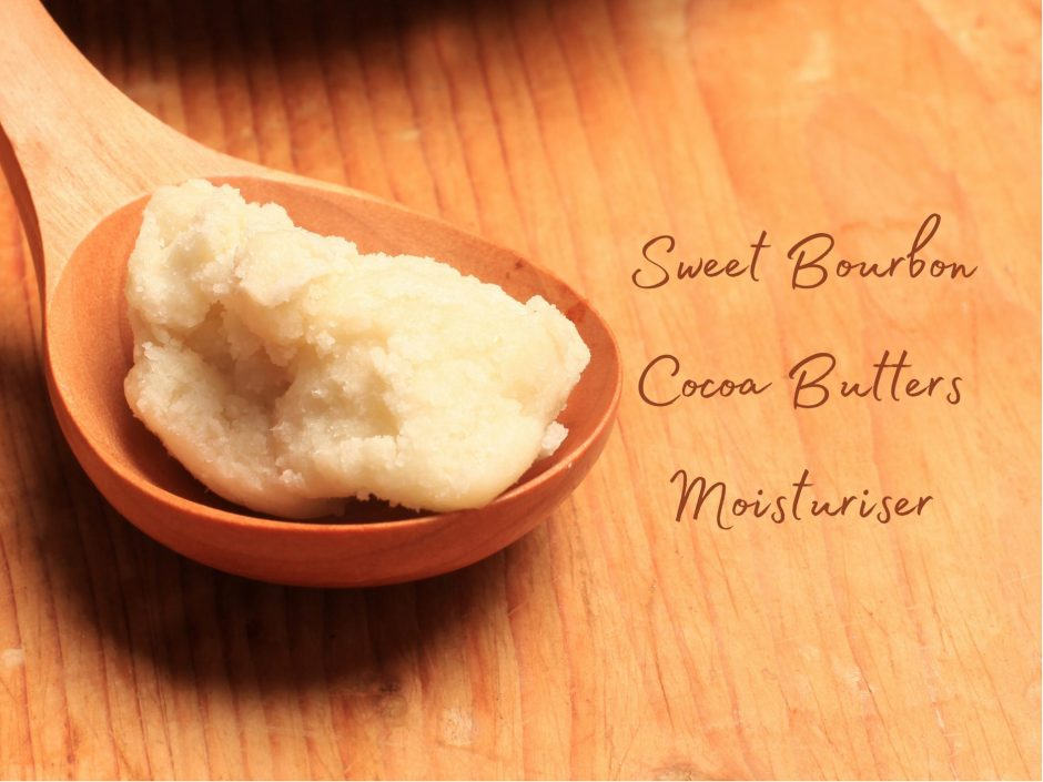 Header image for a review of The Butters Sweet Bourbon Cocoa Butters shea butter moisturiser