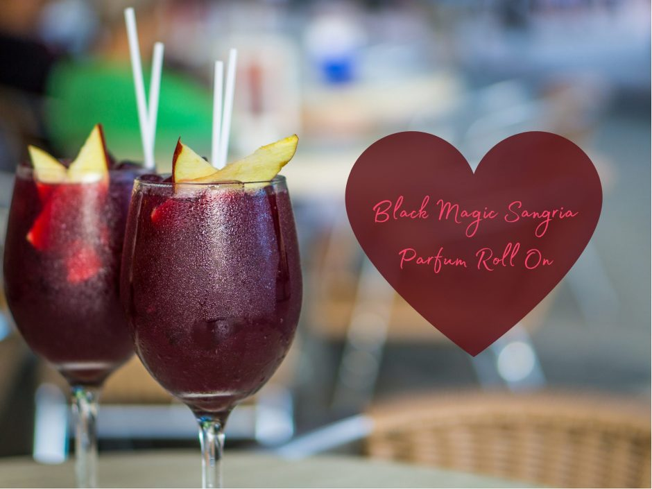Header image for a review of the Black Magic Sangria roll on