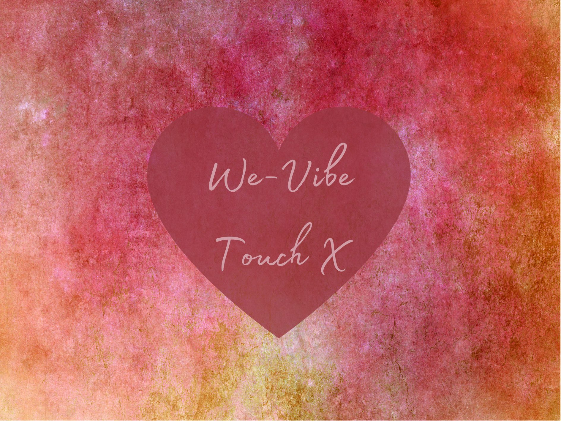 [Toy Review] We-Vibe Touch X