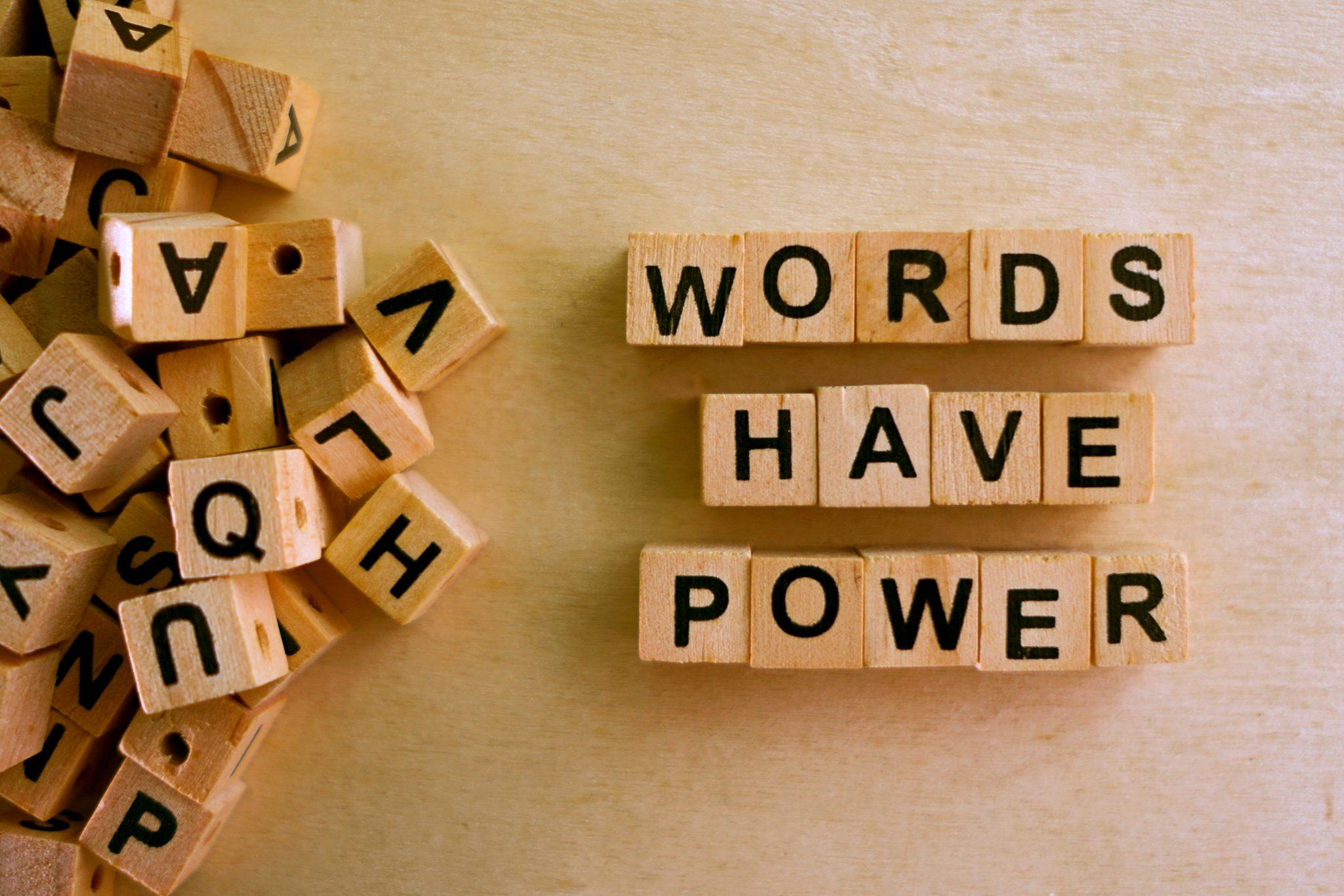The Words I Claim