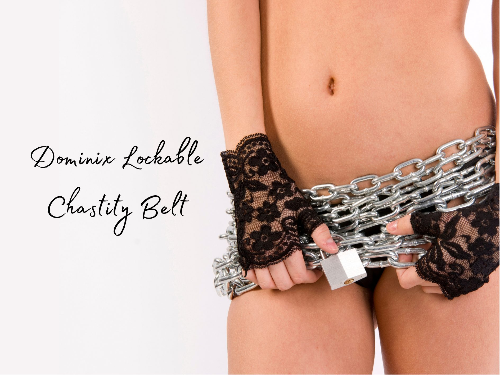 [Kink Product Review] Dominix Deluxe Lockable Chastity Belt
