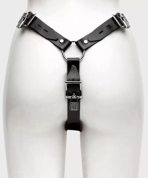 Lockable chastity belt female chastity belt from Lovehoney
