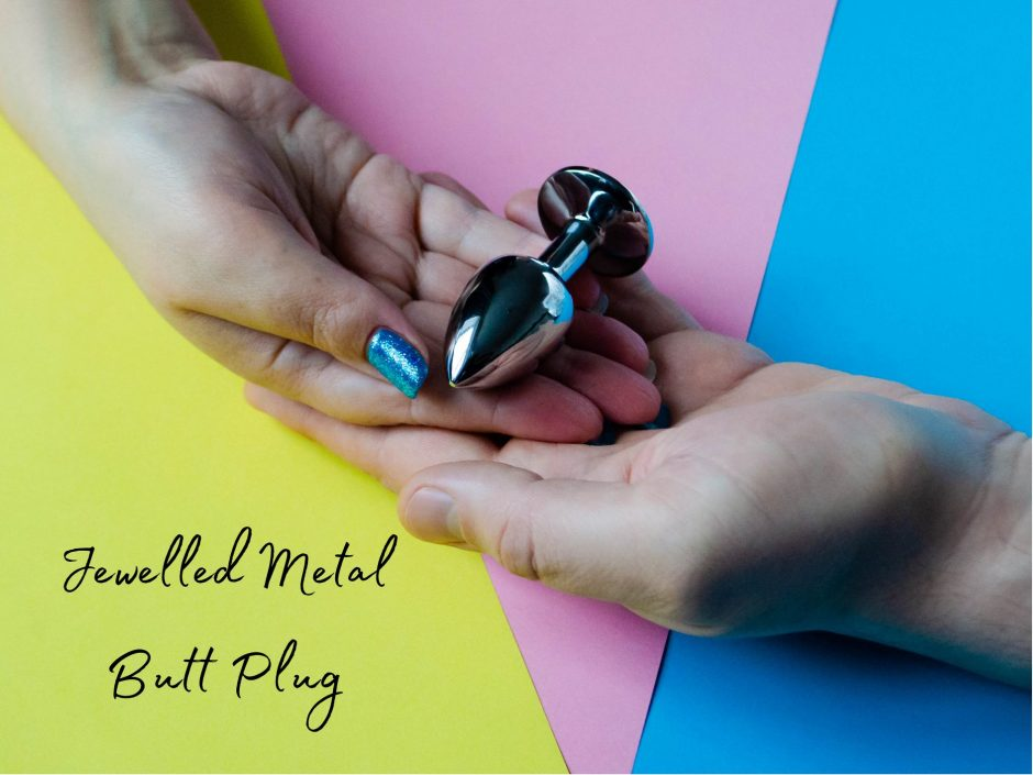 Header image for review of metal butt plug from Lovehoney