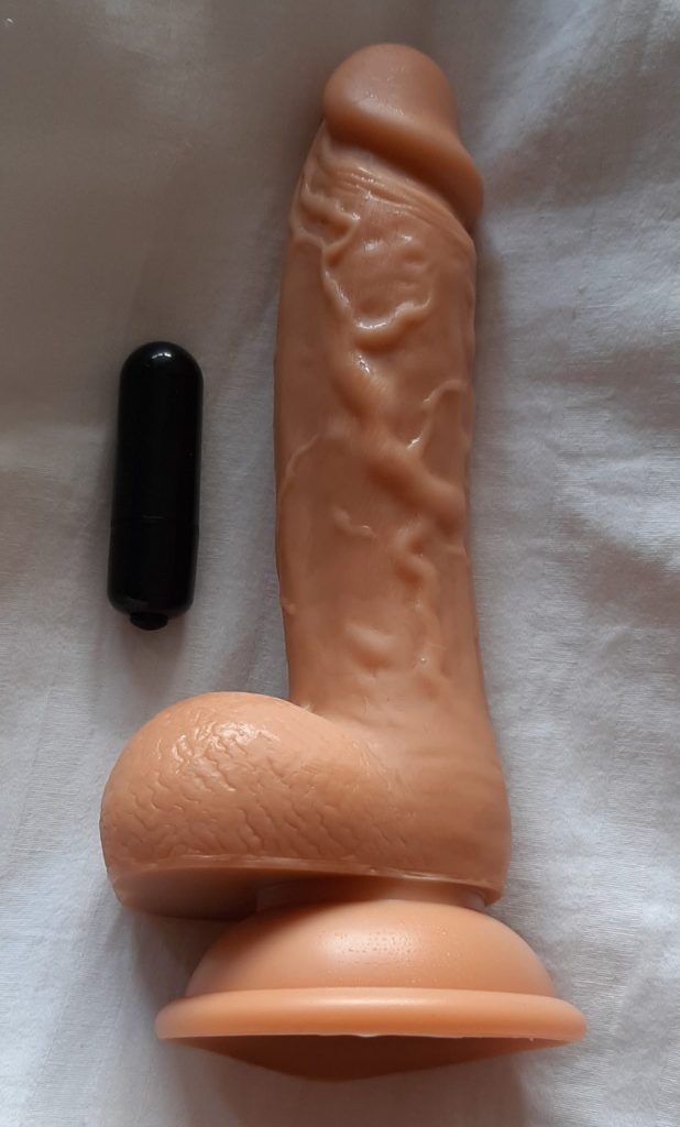 BMS Steven bullet vibe and realistic sex toy