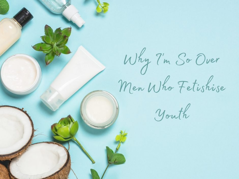 Header for a post on ageing and youth fetishising