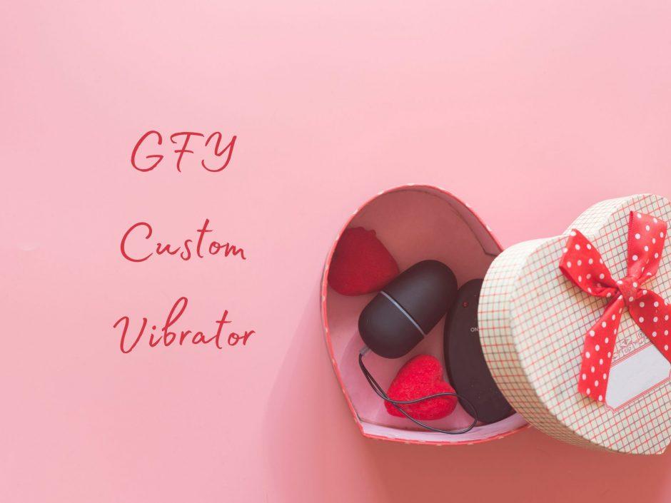 Header for review of GFY custom vibrator