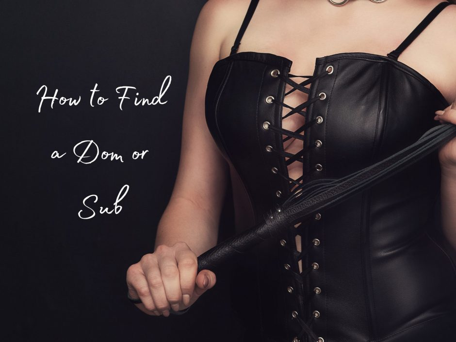 Header for a post on how to find a Dom or sub