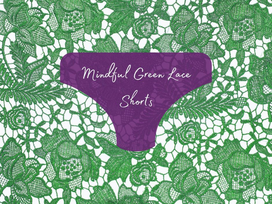 Header image for Mindful Lace Shorts Lovehoney lingerie review