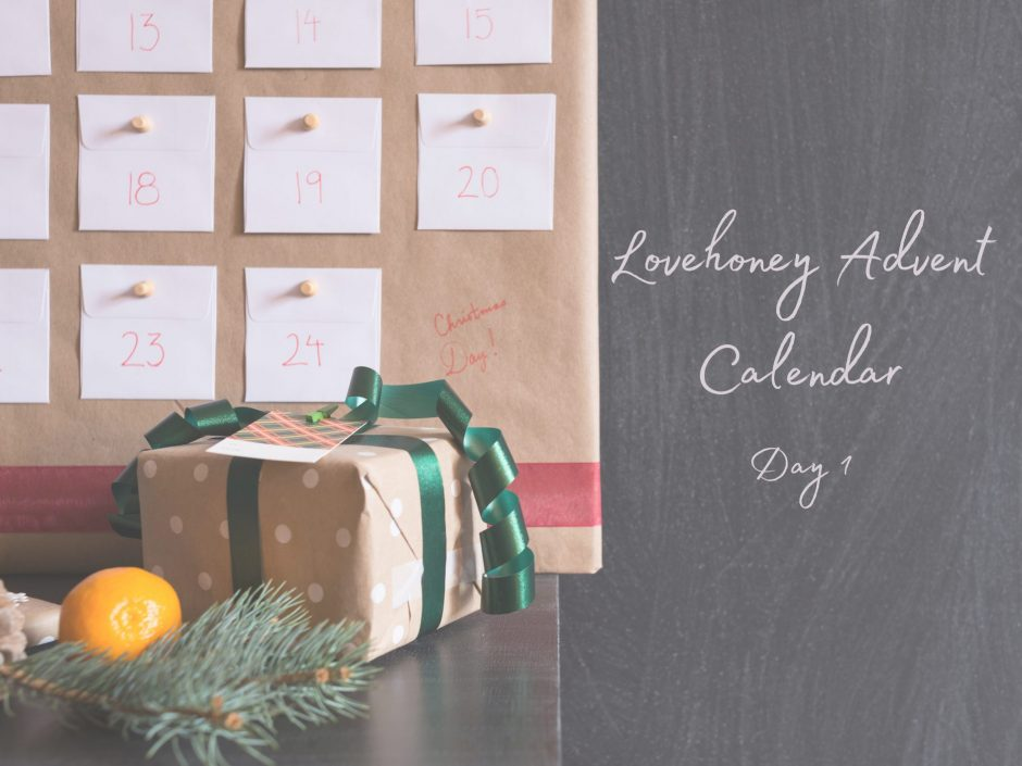 Header image for sex toy advent calendar review day 1