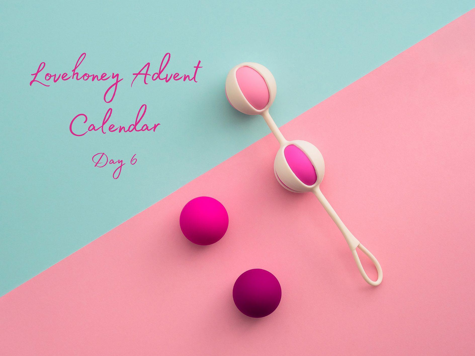 Lovehoney Sex Toy Advent Calendar Door #6: Kegel Balls