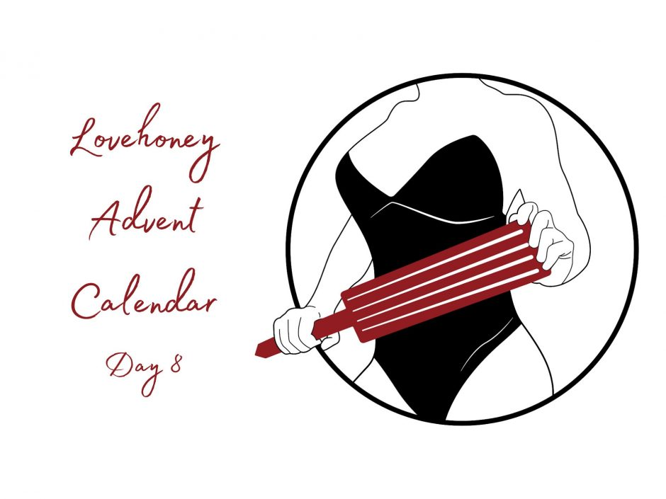 Header image for sex toy advent calendar mini spanking paddle review