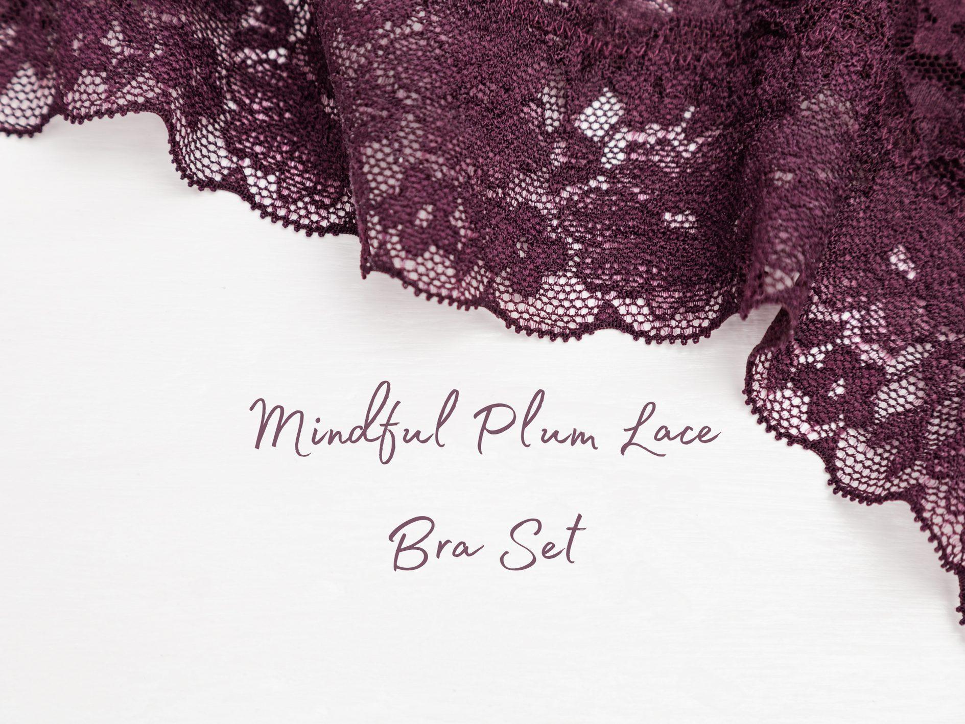 [Lingerie Review] Lovehoney Mindful Plum Lace Bra Set