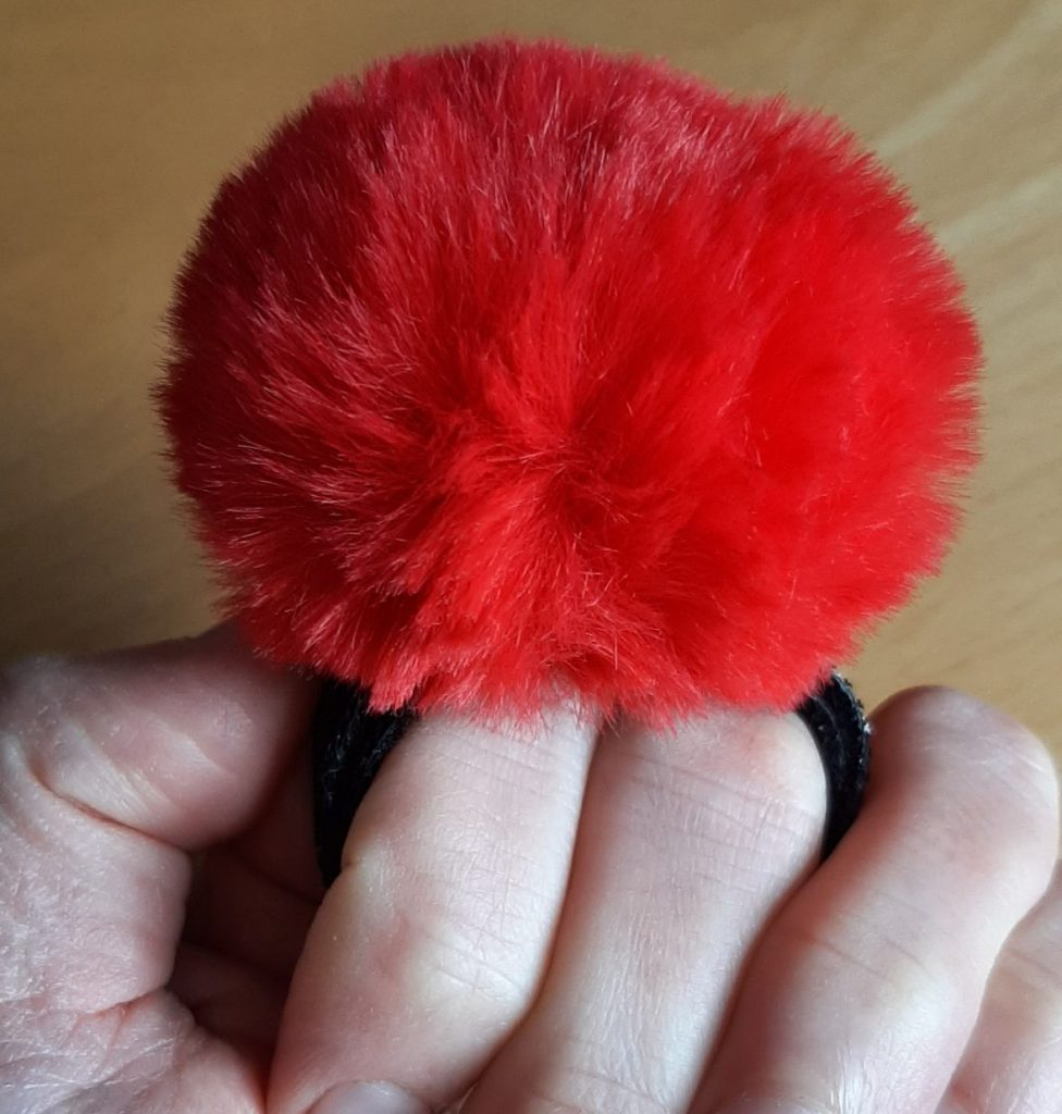 Lovehoney pom pom tickler for sensation kink