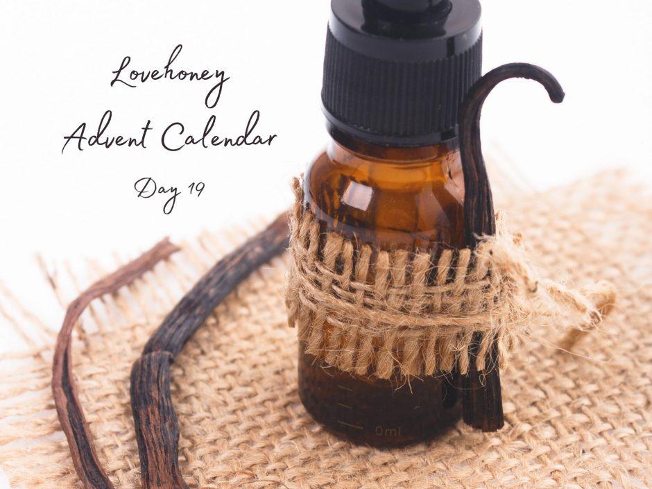 Lovehoney vanilla massage oil review header image